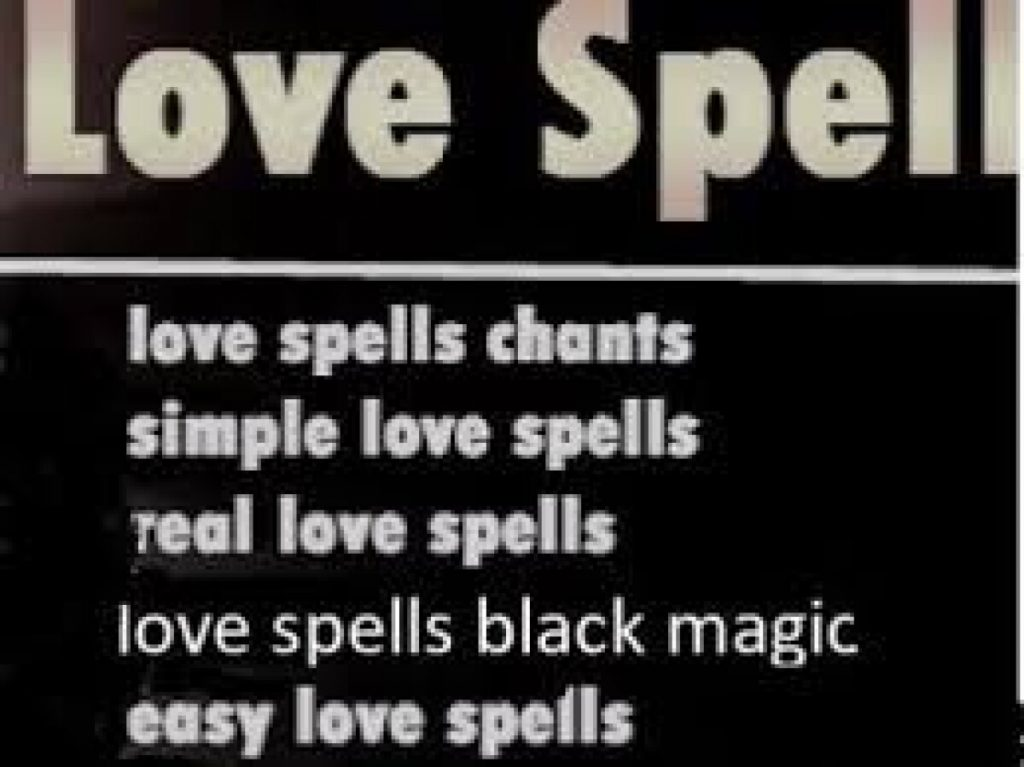 love spells chants