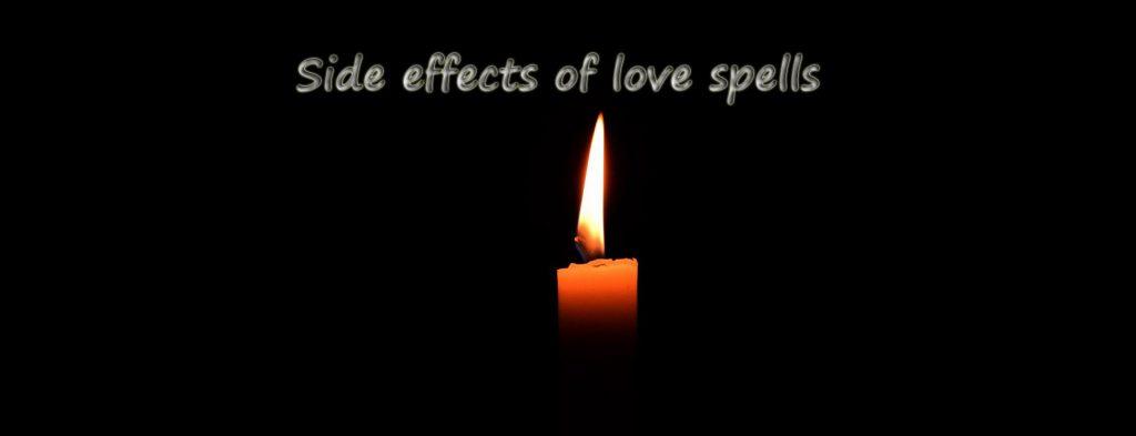 side effects of love spells
