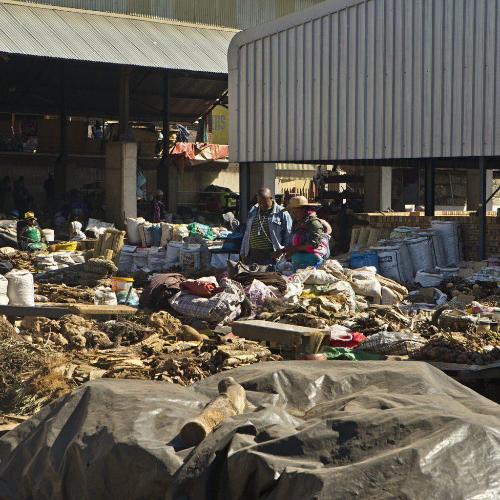 faraday muti market address